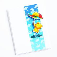 Under My Umbrella Diy Paper, Paper Crafts, Under My Umbrella, Diy Scrapbook, Scrapbooking, Photo Craft, Clear Stamps, Kite, Scrapbooks