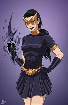 Nightshade (Earth-27) commission by phil-cho.deviantart.com on @DeviantArt