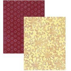 "Sizzix 657255 - Папки за релеф ""Flower Rings & Clusters Set"""