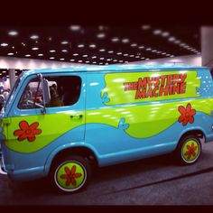 Scooby Doo... where are you! I would totally drive this car