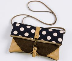 Leather and Polka Bag Uncovet