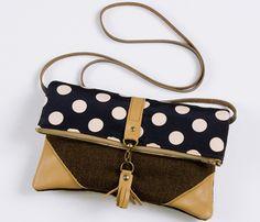 Leather + Polka Dots