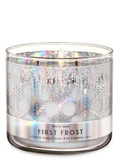 First Frost 3-Wick Candle | Bath & Body Works