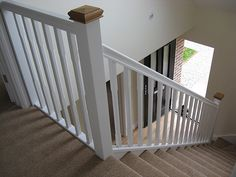 Straight and winder softwood staircases for two new build homes. Stair Spindles, Banisters, Wooden Staircases, Stairways, Inspirational Birthday Wishes, Loft Stairs, New Builds, New Homes, Cottage