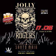 Santo Maia | Jolly Rogers Coloque seu nome na lista acessando o link: http://www.baladassp.com.br/ Infos no Whats: 95167-4133