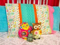 Night Owl Slumber Party Favor - DIY Pillowcases
