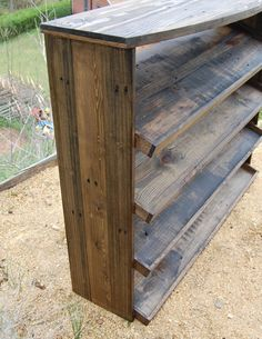 Wooden Pallet Entryway Shoe Rack - Pallets Pro