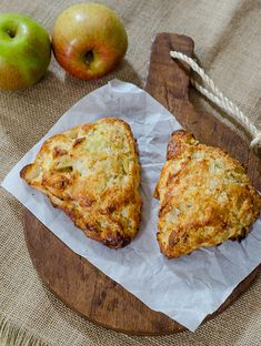 Apple-Cheddar Scones