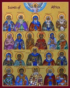 African Orthodox Saints