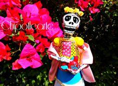 CATRINA, Frida de mi corazón disponible en todos los colores chipotlearte@hotmail.com siguenos por facebook/chipotlearte