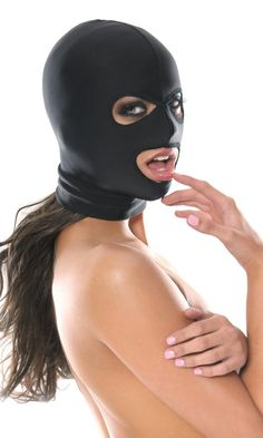 3 Delikli Spandeks Maske