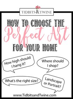 Learn how to choose art for your home, including the right size, orientation, mood, color and more! 8 fail-proof tips to get you started. Blue Artwork, Artwork Prints, Gallery Wall Layout, Living Room Redo, Vintage Doors, Ballard Designs, Hanging Art, Accent Colors, Home Decor Inspiration