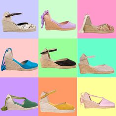 Wedge espadrilles from EspadrillesEtc