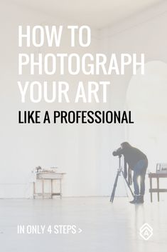 4 Steps to Photographing Your Art Like a Professional. Showcase your art in its best light to increase sales and catch the eyes of exhibitors and buyers. Check out these 4 easy steps that will set you up for success. Photographing Artwork, Creative Business, Craft Business, Business Ideas, Increase Sales, Artist Portfolio, Selling Art Online, Artist Life, Art Tips