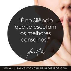 """PENSAMENTO DO DIA  Você costuma """"escutar"""" no silêncio?  Conheça o meu canal no YouTube: https://www.youtube.com/c/luisalvescoaching  #PensamentoDoDia #FraseDoDia #LuisAlvesFrases #Silêncio #Paz #Tranquilidade #Conselhos #Sabedoria #Equilíbrio #LeiDaAtração #BemEstar #Felicidade #Harmonia #Properidade #Sucesso"""