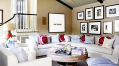 Get Inspired by Molly Sims' Boho Interior Design Style via Brit + Co
