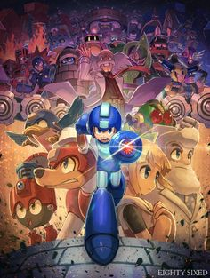 See more 'Mega Man / Rockman' images on Know Your Meme! Mega Man, Geeky Wallpaper, Man Wallpaper, Megaman 11, Megaman Series, Video Game Backgrounds, Videogames, Fighting Robots, Classic Video Games