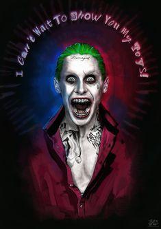 Jared Leto as The Joker - Suicide Squad by LiamGolden.deviantart.com on @DeviantArt