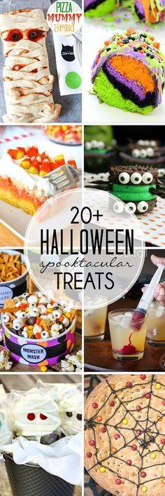 Halloween Treats | 20+ spooktacular recipes!