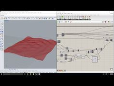 Grasshopper - Creating a Wave Simulation in Kangaroo - YouTube
