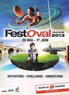 Festoval, le rugby dans tous ses états 2013 à Toulouse / Haute-Garonne. Du 20 mai au 1er juin 2013 à Toulouse.