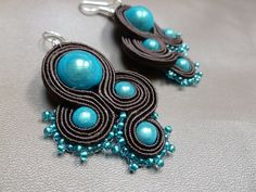 Imagination -soutache earrings
