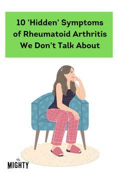 Rheumatoid Arthritis Medications, Rheumatoid Arthritis Awareness, Autoimmune Arthritis, Ra Symptoms, Health Chart, Chronic Illness Quotes, Arthritis Foundation, Chronic Fatigue, Chronic Pain