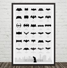 Batman  - An Illustrated Evolution, in print!