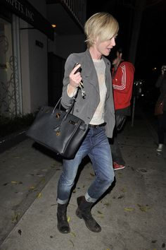 Portia de Rossi rocks a short new 'do with her Hermes Birkin - Page 2 of 5 - PurseBlog