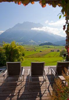 Mohr Life Resort   Design Hotel   Austria   http://lifestylehotels.net/en/mohr-life-resort   outside, terrace, view, garden, nature