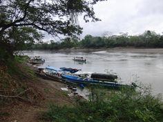 Grensovergang Guatemala- Mexico