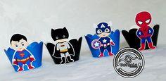 Wrappers Super Herois <br> <br>Feito em qq tema <br> <br>Peça ja o seu