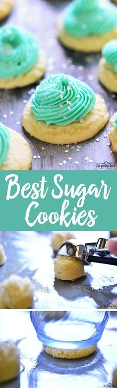 The BEST Sugar Cooki