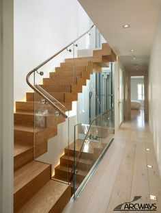 Glass Stair Parts | Curved Staircase | Custom Spiral Stairs | Circular Stairways | Commercial Staircases | Modern Staircase