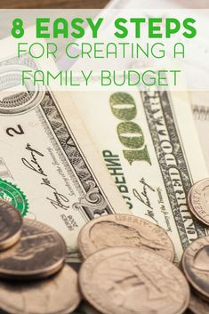 Are you considering a budget for your family? Check out these 8 steps to creating a family budget that everyone can agree on.