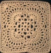 Spring Breeze Afghan Square