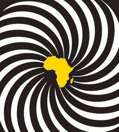 Africa. African Room, African Map, African Tattoo, Mellow Yellow, Color Yellow, Black Artwork, Out Of Africa, African Countries, Arte Pop