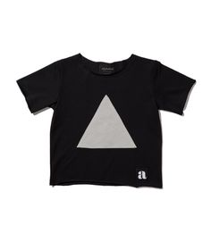 Gray triangle patch t-shirt Triangle, Patches, Crop Tops, Gray, T Shirt, Women, Fashion, Supreme T Shirt, Moda