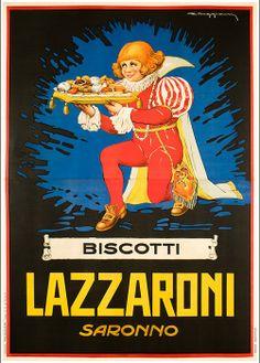 Biscotti Lazzaroni   Autore   Muggiani Giorgio