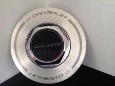Chevy Camaro Center Hub Cap, Chevrolet Hubcap  10119598, Center Cap, Good