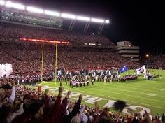 """Football a religion in South Carolina. William Brice Stadium-home of the University of South Carolina GAMECOCKS. A holy place, and the only place it is appropriate to to scream, """"GO COCKS"""" in public."""