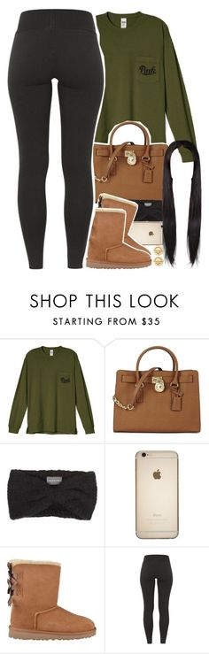 """sorry guys, I really haven't been active "" by daisym0nste ❤ liked on Polyvore featuring Michael Kors, Wooden Ships, UGG Australia and Tiffany & Co."