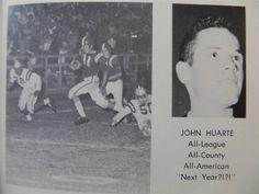 1960 JOHN HUARTE NFL Heisman MATER DEI HIGH SCHOOL Santa Ana CA YEARBOOK Annual