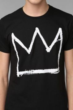 Junk Food Basquiat Crown Tee