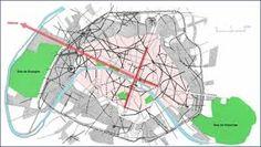 Boulevard Saint Denis map architecture haussmann