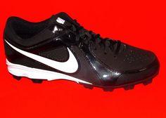Nike MVP Keystone LE Low Molded Baseball Cleats Sizes 8.5, 11.5 & 12 Black/