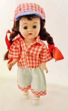 Vintage 1950s Ginger Doll Cosmopolitan Doll by DebscountryVintage, $68.00