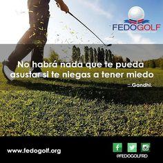 Siempre debes mantener una actitud positiva  y lograras todo lo que te propongas. Feliz Viernes  #fedogolf #golf #RD #swing #grass #putter #tigerwood #filed #hoyo #pasion #sport #deporte #friday