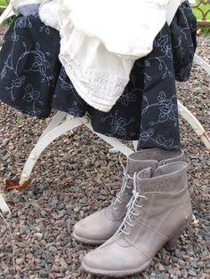Boots med låg klack - Neosens