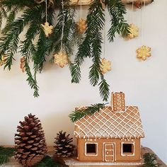 Emily (@harryandfrank) • Instagram-kuvat ja -videot Magical Christmas, Christmas Time, Christmas Ornaments, Twinkle Lights, Twinkle Twinkle, Make A Gingerbread House, Put Together, Still Standing, Snowflakes